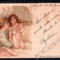 Postales: TARJETA POSTAL DE RAPHAEL TUCK & FILS LIP. SERIE 43 NUMERO 5. Lote 26100865