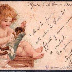 Postales: TARJETA POSTAL DE RAPHAEL TUCK & FILS LIP. SERIE 43 NUMERO 2. Lote 26100870