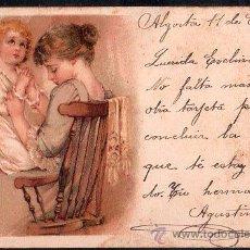 Postales: TARJETA POSTAL DE RAPHAEL TUCK & FILS LIP. SERIE 43 NUMERO 12. Lote 26100881