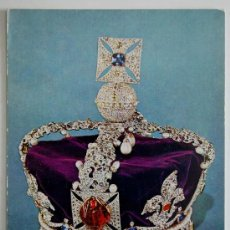 Postales: POSTAL. IMPERIAL STATE CROWN. MADE FOR GEORGE VI IN 1937.. Lote 26213409