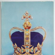 Postales: POSTAL. ST. EDWARD´S CROWN. THE CROWN OF ENGLAND. MADE FOR KING CHARLES II.. Lote 26213460
