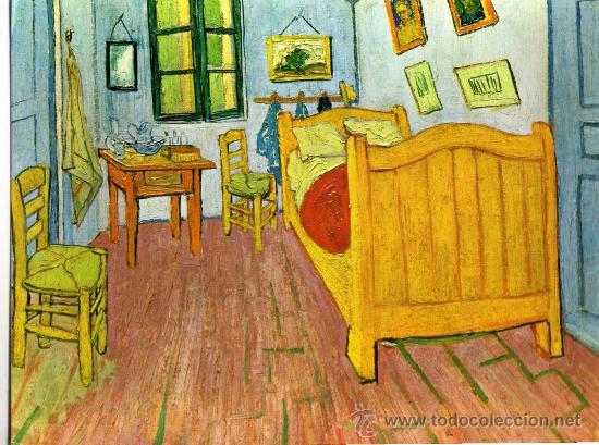 Vincent Van Gogh La Chambre A Coucher A Arles  Comprar Postales