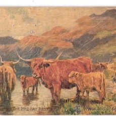 Postales: TARJETA POSTAL DE RAPHAEL TUCK & SONS. OILETTE. IN THE HIGHLANDS. POSTCARD 3256. . Lote 26340552