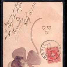 Postales: TARJETA POSTAL DE RAPHAEL KIRCHNER.. Lote 26579245