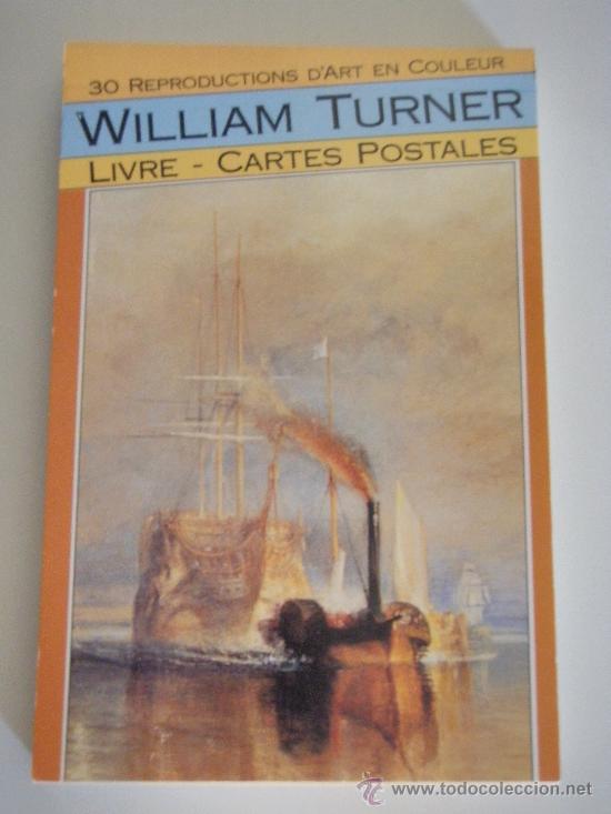 POST 528 - WILLIAM TURNER - LIVRE 30 CARTES POSTALES - 1990 BOOKKING INTERNATIONAL , PARIS (Postales - Postales Temáticas - Arte)