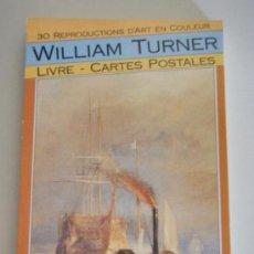 Postales: POST 528 - WILLIAM TURNER - LIVRE 30 CARTES POSTALES - 1990 BOOKKING INTERNATIONAL , PARIS. Lote 26748592