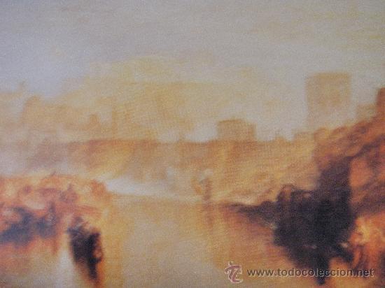 Postales: POST 528 - WILLIAM TURNER - LIVRE 30 CARTES POSTALES - 1990 BOOKKING INTERNATIONAL , PARIS - Foto 3 - 26748592