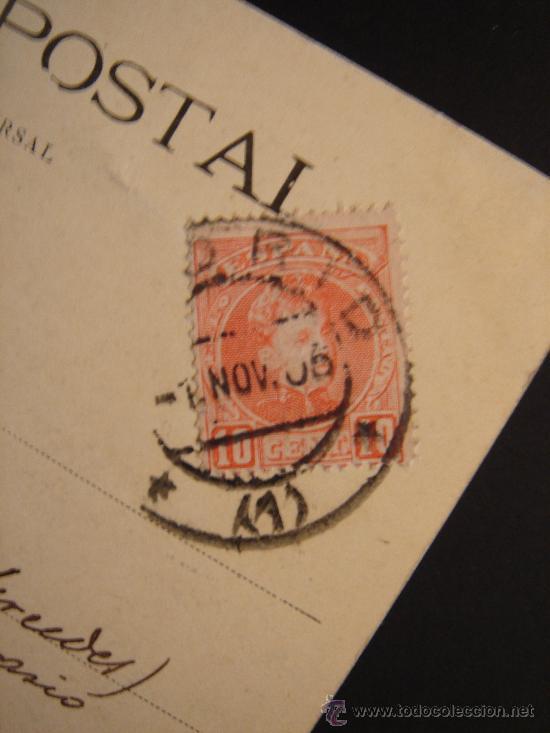 Postales: DETALLE DEL SELLO Y FECHA - Foto 4 - 27103365