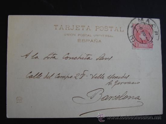 Postales: DORSO DE LA POSTAL - Foto 4 - 27172214