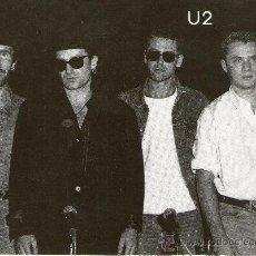 Postales: BUENA POSTAL DEL GRUPO DE MUSICA U2. Lote 107028012