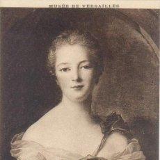 Postales: POSTAL - MUSEE DE VERSAILLES - NATTIER (JEAN MARC) - LOUSE-HENRIETTE-GABRIELLE DE LORRAINE. Lote 29214010