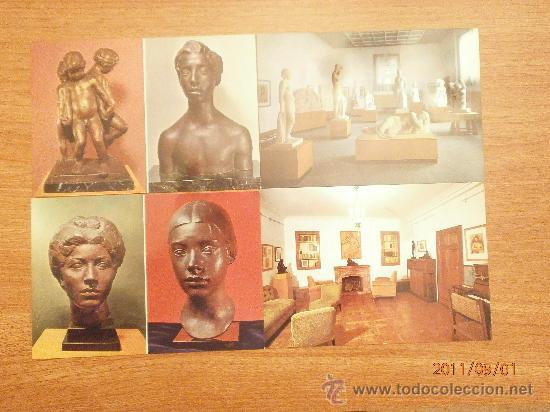 19 POSTALES MUSEO CLARA. SIN CIRCULAR (Postales - Postales Temáticas - Arte)