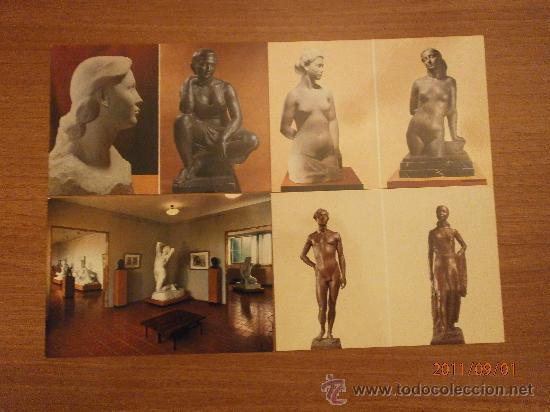 Postales: 19 POSTALES MUSEO CLARA. SIN CIRCULAR - Foto 2 - 28373118