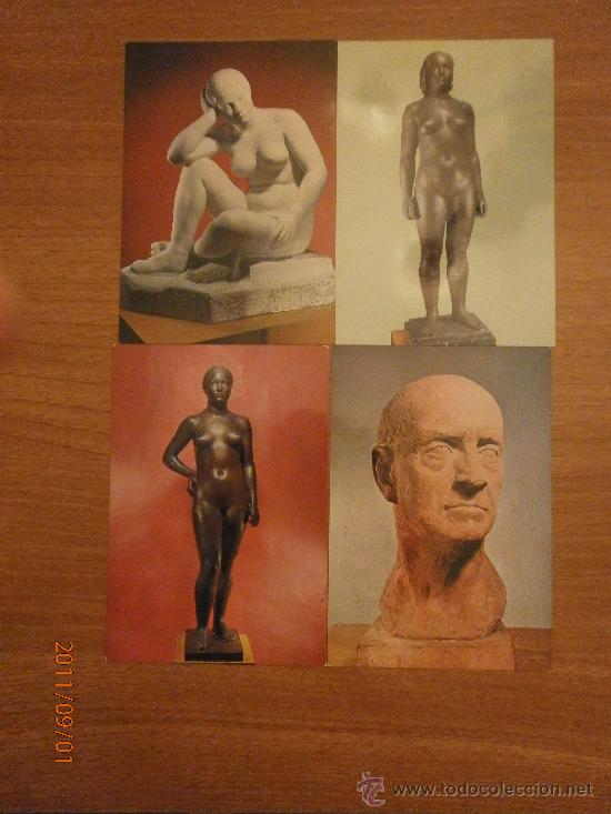Postales: 19 POSTALES MUSEO CLARA. SIN CIRCULAR - Foto 3 - 28373118