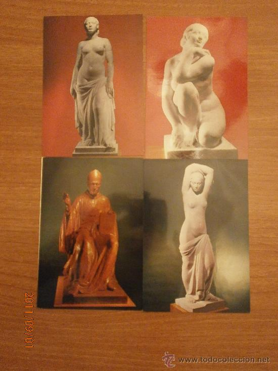 Postales: 19 POSTALES MUSEO CLARA. SIN CIRCULAR - Foto 4 - 28373118