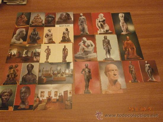 Postales: 19 POSTALES MUSEO CLARA. SIN CIRCULAR - Foto 6 - 28373118