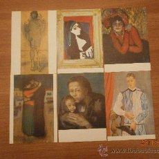 Postales: 13 POSTALES MUSEO PICASSO. BARCELONA DIFERENTES. Lote 28473523