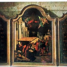 Cartes Postales: POSTAL PAREDES DE NAVA MUSEO SANTA EULALIA TRÍPTICO FLAMENCO S XVI POSTAL INTER AÑOS 70 CIRCULADA. Lote 28660433