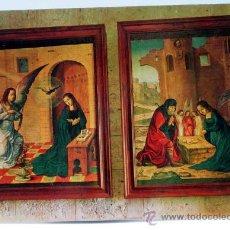 Cartes Postales: POSTAL PAREDES DE NAVA MUSEO SANTA EULALIA TABLAS FLAMENCAS JUAN FLANDES POSTAL INTER AÑOS 70 CIRCUL. Lote 28660441