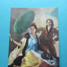 Postales: F. GOYA. EL QUITASOL. MUSEO DEL PRADO. EDICIONES BARSAL. Lote 29271298