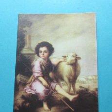 Postales: MURILLO. EL DIVINO PASTOR. MUSEO DEL PRADO. EDICIONES BARSAL. Lote 29271313