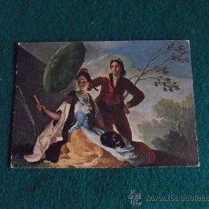 Postales: POSTALES-ARTE-EL QUITASOL-GOYA-MUSEO DEL PRADO. Lote 29368672