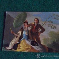 Postales: POSTALES-ARTE-EL QUITASOL-GOYA-MUSEO DEL PRADO-ESCRITA. Lote 29368681
