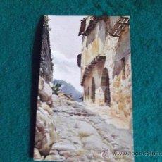 Postales: POSTALES-ARTE-ANTIGUAS-CATALUÑA ARTISTICA-STA PAU DE OLOT,CALLE.. Lote 29368938