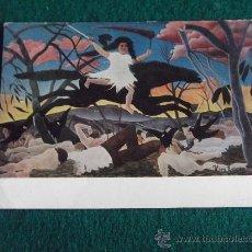 Postales: POSTALES-HENRI ROUSSEAU-LA GUERRA. Lote 29383021