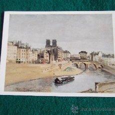 Postales: POSTALES-JEAN BAPTISTE COROT-MUSEO PARIS. Lote 29388862
