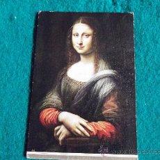 Postales: POSTALES-MUSEO DEL PRADO-MADRID-AUTOR DESCONOCIDO-LA GIOCONDA. Lote 29389019