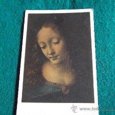 Postales: POSTALES-LEONARDO DA VINCI-LA VIERGE AUX ROCHERS. Lote 29389358