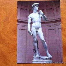 Postales: FLORENCIA . DAVID DE MIGUELANGEL . Lote 29699690