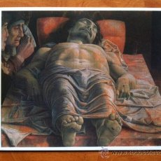 Postales: ANDREA MANTEGNA , CRISTO MORTO - PINACOTECA DE BRERA , MILAN 1988. Lote 29699954