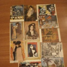 Postales: 12 POSTALES MUSEO PICASSO BARCELONA SIN CIRCULAR. Lote 29770632