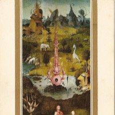Cartes Postales: EL JARDIN DE LAS DELICIAS-FRAGMENTO (EL BOSCO 1450-1516). Lote 30132117