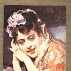 Postales: POSTAL MADRAZO. LA MODELO ALINE MASSON CON MANTILLA BLANCA.EDICIONES LZM. NUEVA.. Lote 30322486