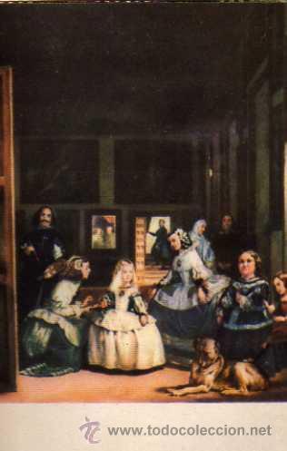 LAS MENINAS Nº 49 VELÁZQUEZ MUSEO DEL PRADO EDICIONES BARSAL ESCRITA SIN CIRCULAR (Postales - Postales Temáticas - Arte)