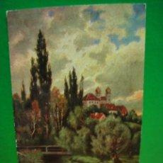 Postales: PAISAJE POSTAL FRANQUEADA CON SELLO ALFONSO XIII. Lote 30773348