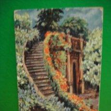 Postales: PAISAJE POSTAL FRANQUEADA CON SELLO DE ALFONSO XIII EDIC ,MONOPOL. Lote 30773504