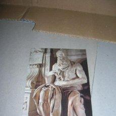 Postales: ROMA. BASILICA DI S. PIETRO IN VIANCOLI. MOSÉ DI MICHELANGELO (MOISES DE MIGUEL ANGEL). . Lote 30777232