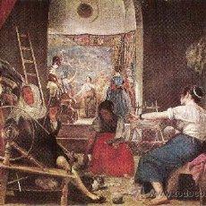 Postales: MUSEO DEL PRADO . VELAZQUEZ - LAS HILANDERAS . AÑO 1958 . EDICIONES ARTISTICAS OFFO. Lote 30795644