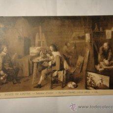 Postales: POSTAL DEL LOUVRE. FRANCIA, RYCKAERT. CIRCULADA 1906. POSTAL 1160. Lote 30860367
