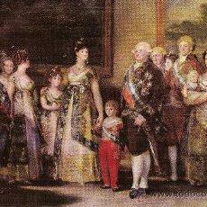 """Postales: MUSEO DEL PRADO. GOYA """"LA FAMILIA DE CARLOS IV"""" – AÑO 1959 - ED. AR.OFFO – NUEVA. Lote 30946209"""