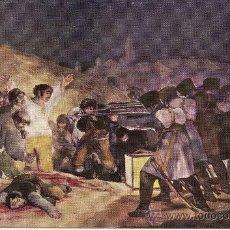 """Postales: MUSEO DEL PRADO. GOYA """"LOS FUSILAMIENTOS DEL 3 DE MAYO"""" – AÑO 1959 - ED. AR.OFFO – NUEVA. Lote 30946215"""