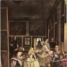 """Postales: MUSEO DEL PRADO. VELAZQUEZ """"LAS MENINAS"""" – AÑO 1959 - ED. AR.OFFO – NUEVA. Lote 30946535"""