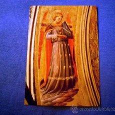 Postales: POSTAL ITALIA MUSEO SAN MARCO FLORENCIA ANGEL MUSICO POR BEATO ANGELICO NO CIRCULADA. Lote 30956793