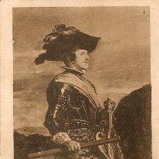 Postales: ANTIGUA POSTAL DEL REY D. FELIPE IV (VELÁZQUEZ). Lote 31001238