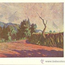 Postales: PINTORES ESPAÑOLES CONTEMPORÁNEOS. SERIE E. RAFAEL SALVÁ. PAISAJE (MATADEPERA). ED.ARTIGAS SERIE 100. Lote 31002501