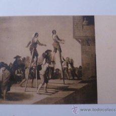 Postales: CUADROS CÉLEBRES; TAPICES DE GOYA, LOS ZANCOS, SERIE II, Nº4. Lote 31150042